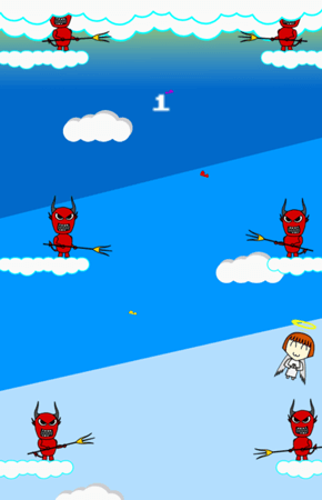 Swingy Angie - gameplay screenshot